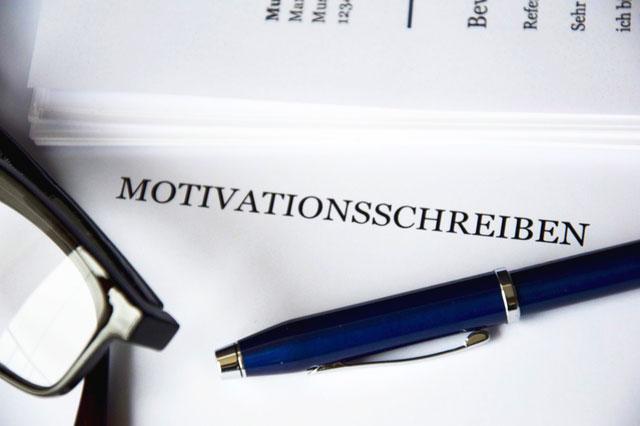 Motivationsschreiben Bewerbung