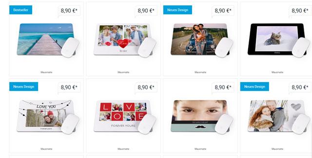 Smartphoto Auswahl Designs